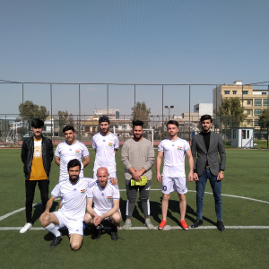The law department students' team would win over the Civil Engineering team