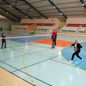 Badminton Match for Female Teachers