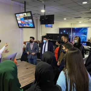 A Scientific Trip of Translation Seniors to Rudaw Media Network