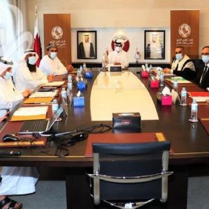 Participation in The Arab Gulf Football Federation meetings