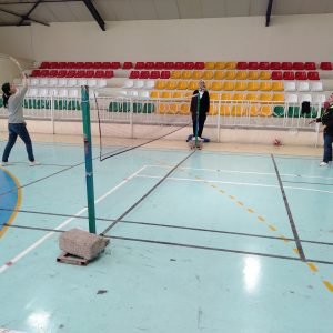 The Final Qualifiers of Badminton for the Faculties of Cihan University-Erbil