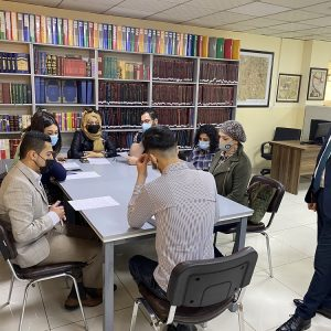 Forming an analytical team of students from Department of International Relations and Diplomacy