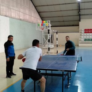 Table tennis league for professors and staff at Cihan University-Erbil