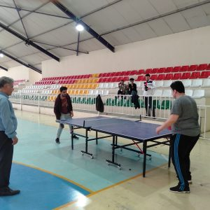 Table tennis league for Cihan University students