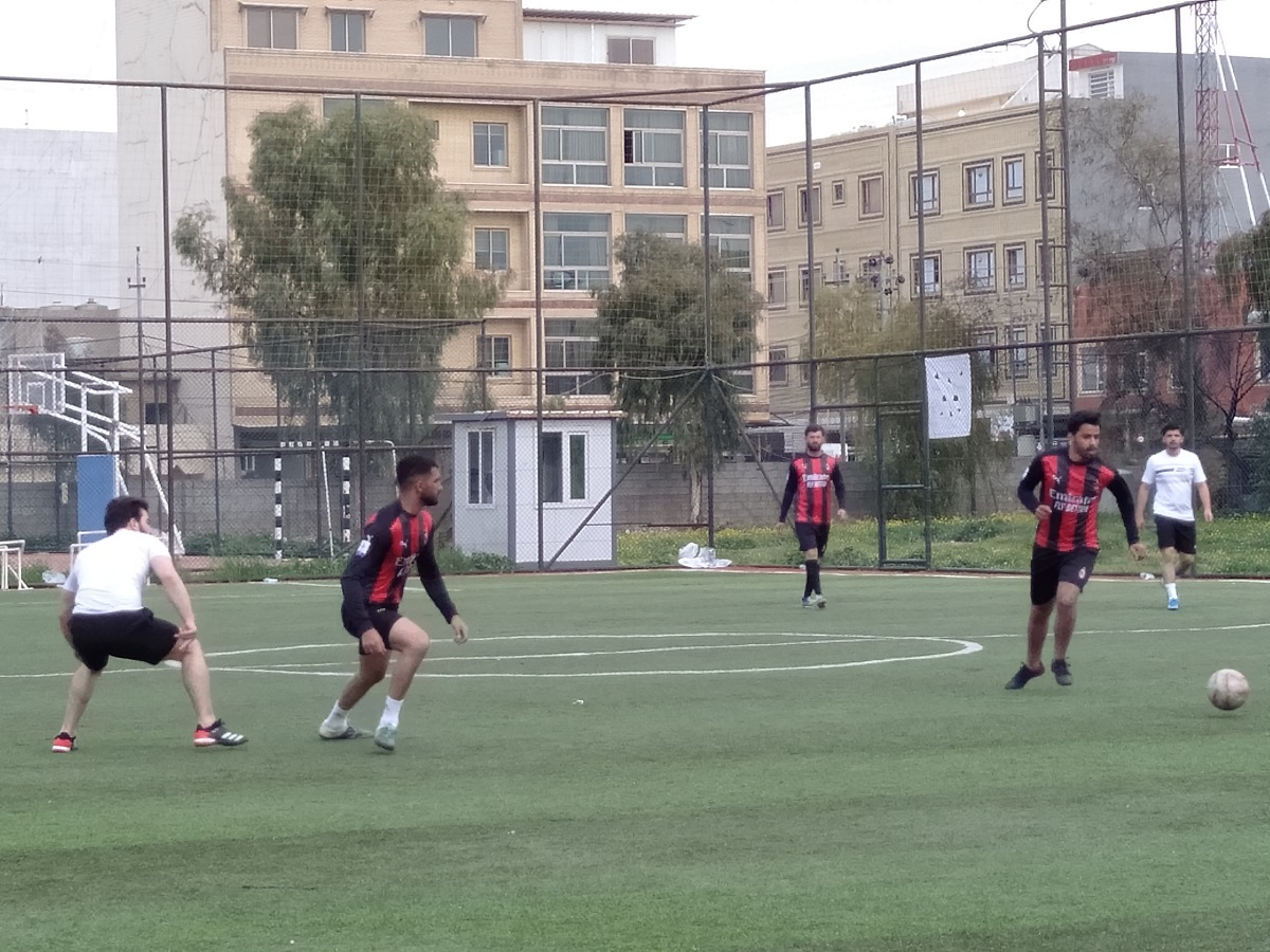 The team of Department of Business Administration defeated the team of Department of International Relations and Diplomacy football