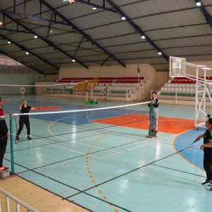 Opening of the Badminton League for female students in the departments at Cihan University-Erbil