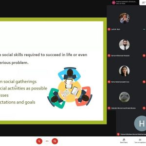 """Presenting a Webinar on """"Youth Success"""" for Students of Computer Science Department"""