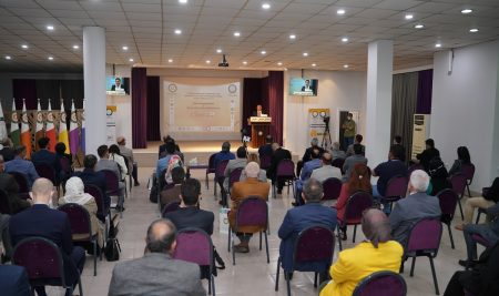 پانۆراماى دووهمین كۆنفرانسی نێودهوڵهتی بۆ ئهندازیاری تهلارسازی و شارستانی
