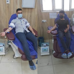 Blood Donation in Biology (Medical Microbiology) Department