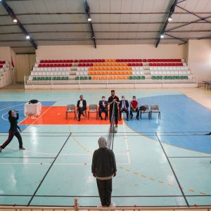 Final Match of Badminton for the Teaching Staff of Cihan University-Erbil