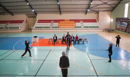 Final Match of Badminton for the Teaching Staff of Cihan University-Erbil