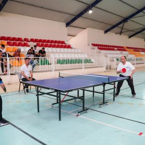 The Final Match of Table Tennis for the Teaching Staff of Cihan University-Erbil