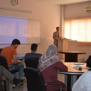 The Department of Media and IRD organized a workshop on Kurdish journalism and the current political developments