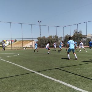 Final Football Match for the students of Cihan University-Erbil