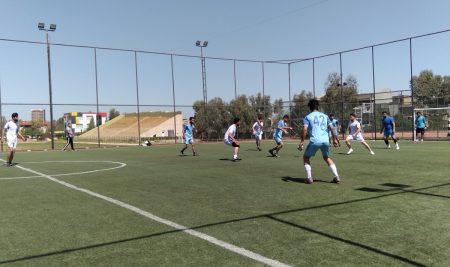 Final Football Match for the students of Cihan University-Erbil