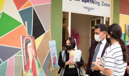 Opening an Art Gallery in Biology (Medical Microbiology) Department