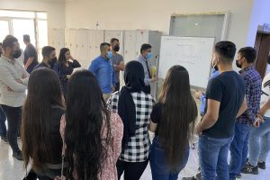 Students of the Department of Communications organize scientific and cultural bulletins-١