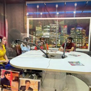 'Your morning is with us' … Media students present a program on Cihan Radio