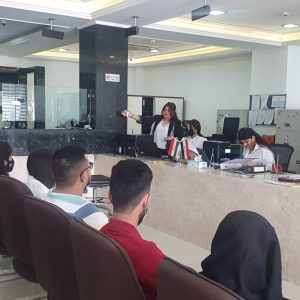 A Scientific Visit to Trust International Islamic Bank