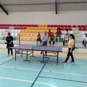 Final Table Tennis match for Cihan University-Erbil students