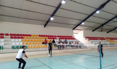 Final match of badminton for the students of Cihan University/Erbil