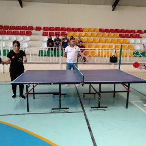 Final match of Table Tennis for the teaching staff of Cihan University/Erbil