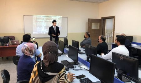 """Cihan University – Erbil Organizes a Training Course Named """"Gamified Interactive Flipped Classroom"""" for Its Academic Staff"""