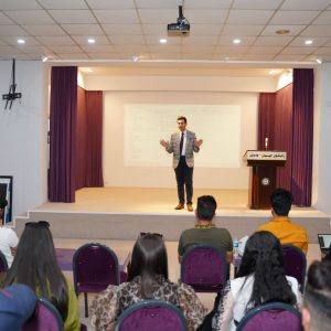 Department of Computer Science Holds Activity of Presentation for students Projects