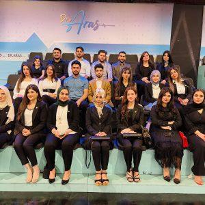 Students of the Biomedical Science Department at Cihan University – Erbil visit Rudaw