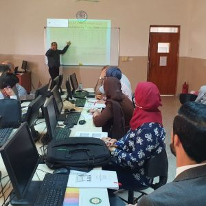 Cihan University – Erbil organizes a training course for its teaching staff in statistical analysis