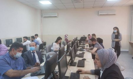 Cihan University – Erbil organizes a training course for teachers and staff of scientific departments in the field of data analysis