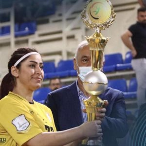 One of the students of Cihan University won the title of best player in the Premier League