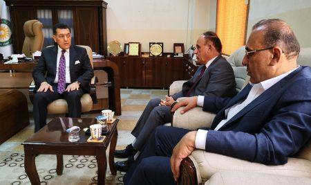 President of Cihan University-Erbil announced Cihan University's willingness to support and assist the Kurdistan Teachers Union