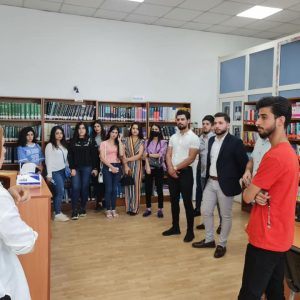 A Scientific Visit to Erbil Public Library for the Students of the Accounting Department, Cihan University-Erbil