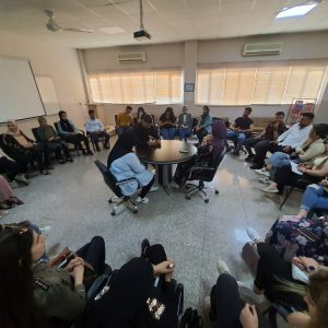 The General Education Department Organized a Discussion Session