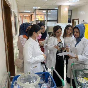 A scientific visit to laboratories of the Standards and Metrology Authority for the students of Nutrition and Dietetics Department