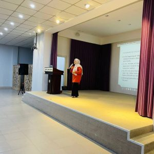 """Department of General Education organized a seminar entitled """"The Little Girl and the Doctor"""""""