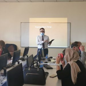 Workshop on Application of Virtual and Augmented Reality in Education