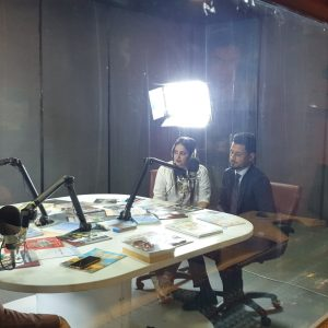 Accounting Department Students Participate in a Radio Interview at Cihan University Radio